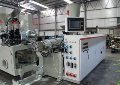 Twin Screw Extruder Machine Conical